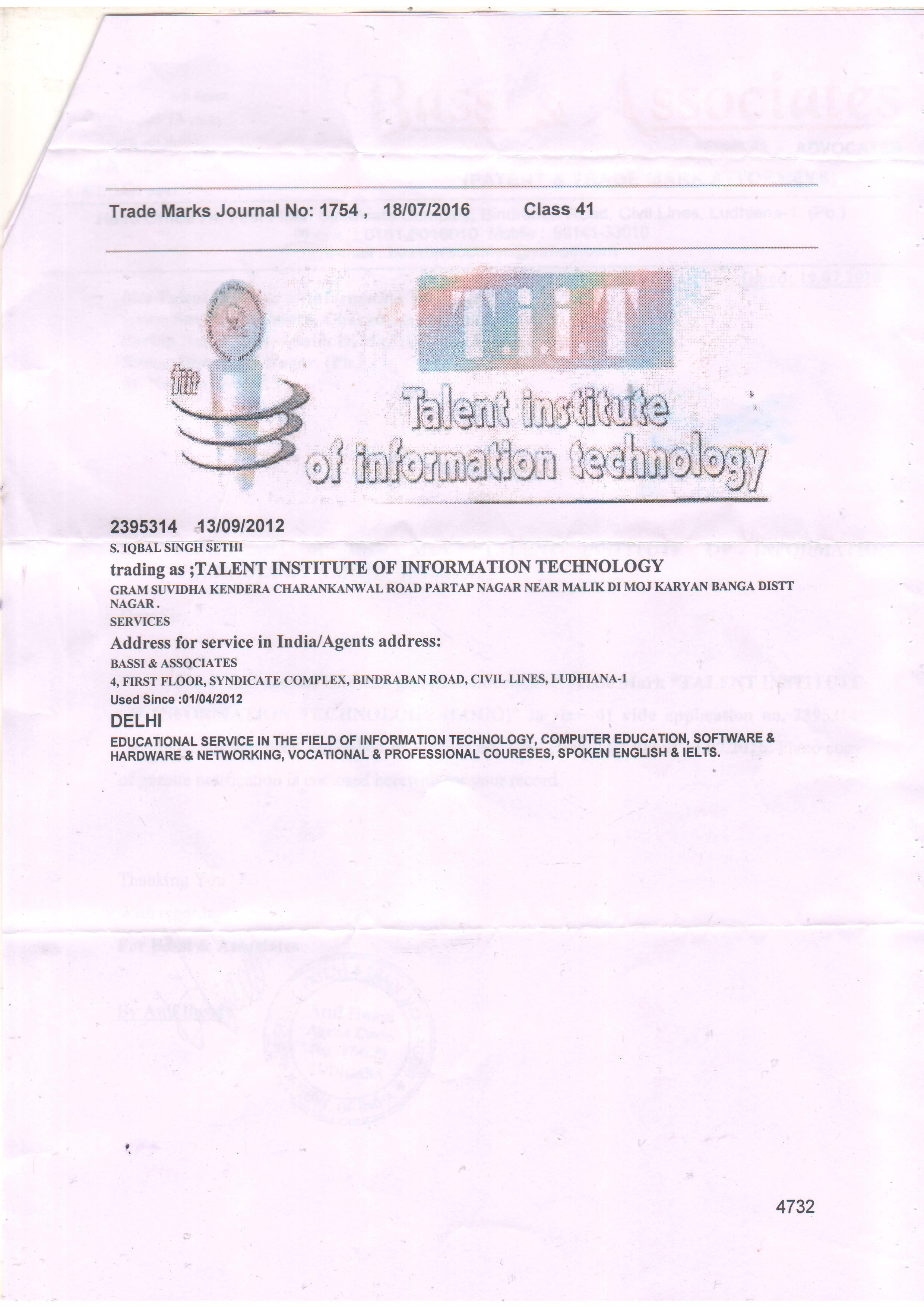 Tiit Banga Certifications